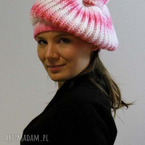 czapa naleśnikowa, beret czapka, naleśnik baskijski