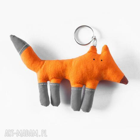 pan lis odblaskowy, odblask, bezpieczny, lis, lisek, zwierzę breloki, oryginalny