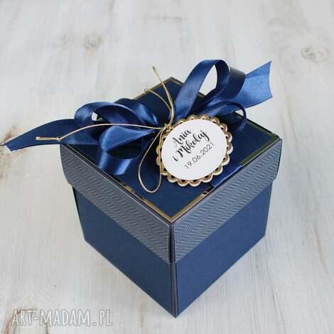 pudełko kartka na ślub prezent (wesele)
