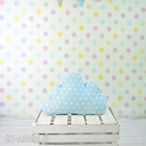 poduszka w kształcie chmury niebieska - chmura, dziecko, dekoracja, poduszka, prezent