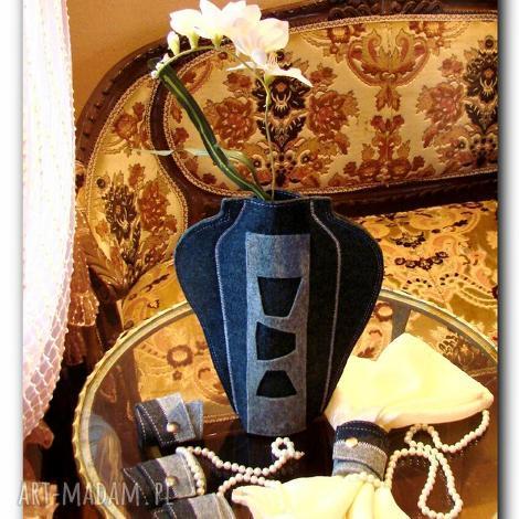wazony wazon z filcu, wazon, butelki, filc, prezent, etui, kwiaty dom, święta