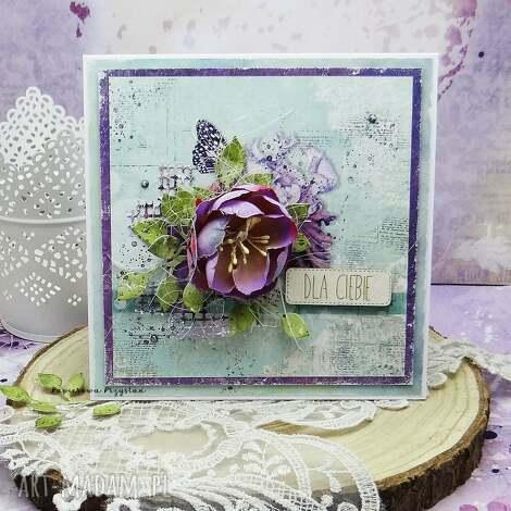 dla ciebie - kartka w pudełku ślub, męska kartka, urodziny