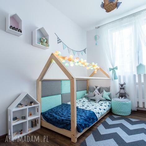 Łóżko domek dla dziecka 80x160 - łóżeczko, łóżko