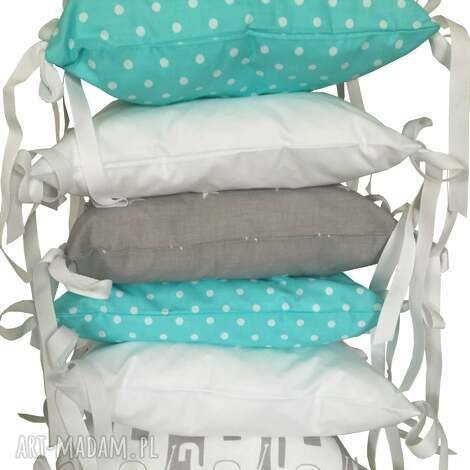 poduchowy ochraniacz lamado 6 częsciowy - poduchowy, ochraniacz, łóżeczka