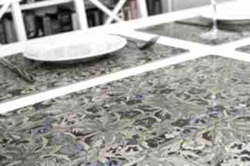 4 korkowe podkładki na stół, bratki, wyspiański viva larte