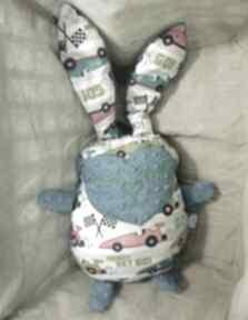 Zając królik przytulanka pokoik dziecka guga design samochody,
