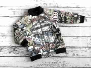 Kurtka dla chłopca, bomberka dziecięca, softshell tummi handmade