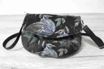Torebka z klapką - pawie na ramię torebki niezwykle pawie, ptaki