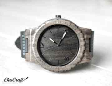 Drewniany zegarek hawk zegarki ekocraft zegarek, drewniany