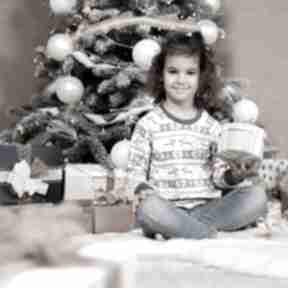 Pomysł co pod choinkę. Świąteczna bluza dziecięca christmas szara
