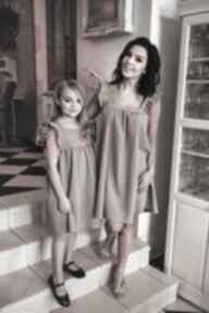 sukienkisukienka ciążowa mama-i-córka falbana
