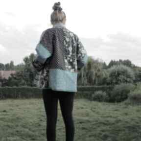 PatchworkArt: płaszcz waciak patchwork boho folk