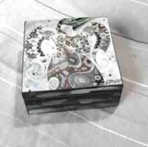 Szkatułka - morza szept pudełka marina czajkowska szkatułka