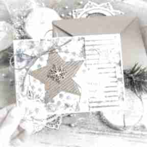 Pomysł na upominek. Piękna kartka na święta bożego narodzenia