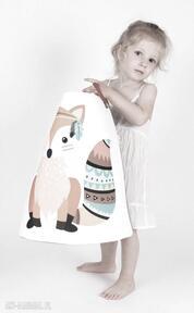 Ogromny pojemnik z lisem pokoik dziecka gucialoveskids prezent