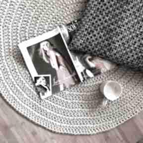 Okrągły dywan ze sznurka bawełnianego sznurniete dywan, sznurka