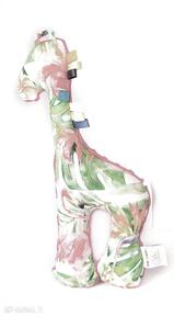 Żyrafa flamingi fuksja zabawki lilifranko żyrafa, maskotka