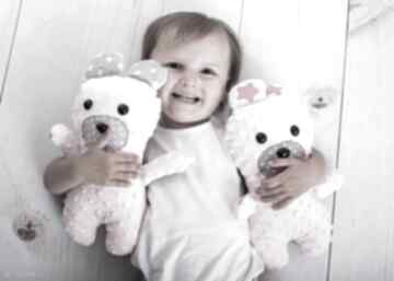 Przytulanka dziecięca miś zabawki ateliermalegodesignu