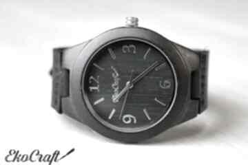 Damski drewniany zegarek raven zegarki ekocraft zegarek, damski