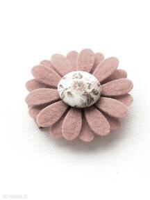 Spineczka do włosów kwiatek florence dla dziecka momilio art