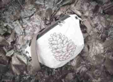 Nerka mini szyszka zapetlona nitka mininerka, nerkaleśna
