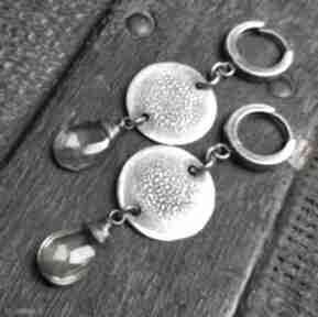 Treendy! kolczyki-wiszące kolczyki-srebrne cytryn