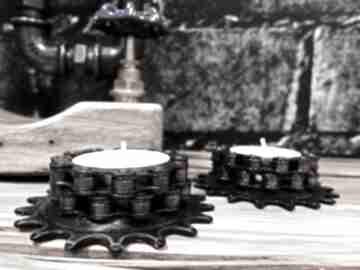 Świeczniki rack 2 szt bikes bazaar metalowy, rowerowy, prezent