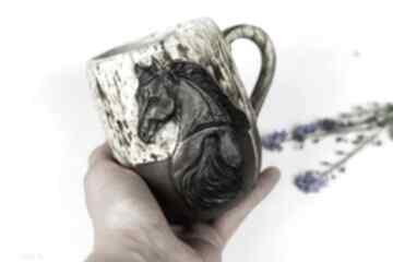 Ceramika azulhorse na prezent, z koniem, kubek do herbaty, duży