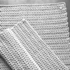 Dywan ze sznurka bawełnianego jasny szary 80x120 cm nitkowelove