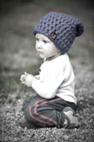 Upominki święta. Czapka dziecięca monio 11 - ultramaryna czapki
