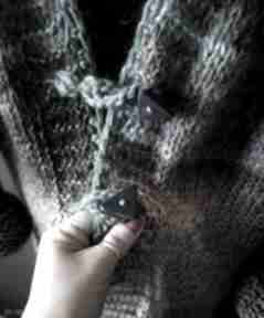 Kolorowy kardigan boho swetry the wool art ubrania, sweter