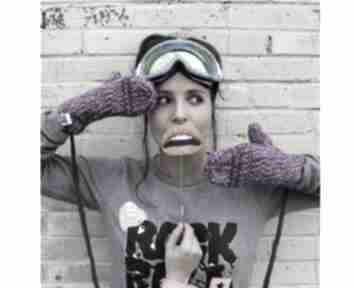 Rękawiczki mode 1 brain inside rękawiczki, zima