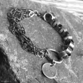 Bransoletka srebrna treendy na dzień-matki, srebro, srebro