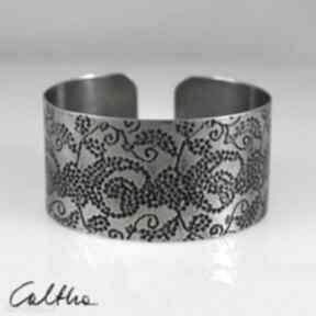 Pnącza - metalowa bransoletka 171202 -03 caltha branosleta