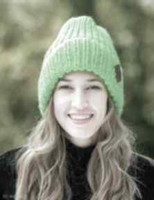 Lucky alternatywny neon czapki brain inside czapka, zimowa