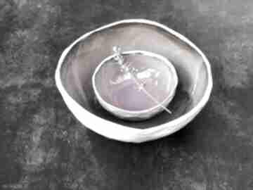 Komplet misek violet ceramika juga ceramics ceramika, miska