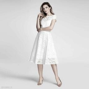 Sukienka klara total midi leticia biel sukienki livia clue