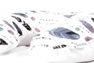 Duża poduszka do karmienia pióra boho dla dziecka nuvaart