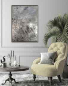 Obraz ręcznie malowany na płótnie 50 x 70, farby akrylowe