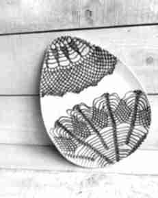Patera wielkanocna jajo ceramika kmdeka patera, ceramika, talerz