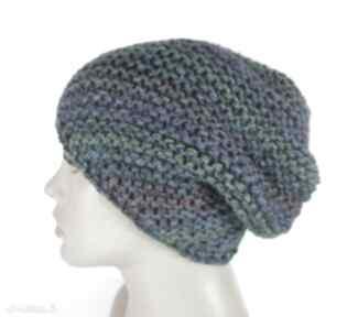 Szmaragdowa czapka typu beanie czapki elma22 czapka, beanie