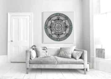 Mandala 50x50cm mandale malgorzata domanska mandala, mandale