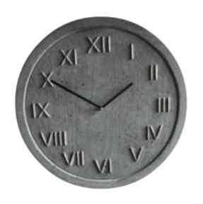 3 zegary betonowe zestaw graycrafters zegar