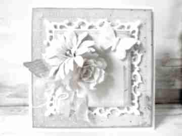 Pastelowa z motylem scrapbooking kartki marbella życzenia