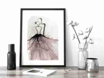 Obraz ręcznie malowany a4, nowoczesna abstrakcja, 2624402 art