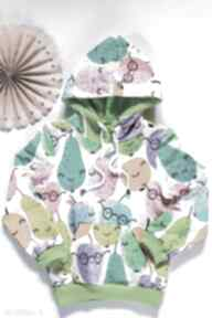 Owocowa bluza kangurka z kapturem 98 -122 tree house kangurka