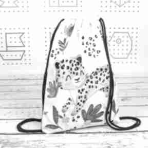 Worek z imieniem gepard dla dziecka nuvaart na buty, worko