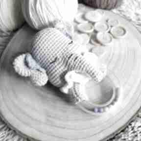 Grzechotka słonik zabawki dziane grzechotka, maskotka, zabawka