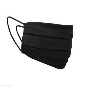 Maseczka dwuwarstwowa - czarna dodatki lanti urban fashion