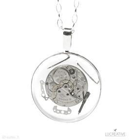 I want it all - srebrny nasyzjnik z elementami zegarka